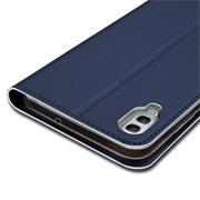 Slim Wallet Case für Huawei Y6 (2019) aufstellbare Magnet Hülle
