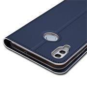 Slim Wallet Case für Huawei Y7 (2019) aufstellbare Magnet Hülle