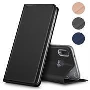 Magnet Case für Huawei Y7 2019 Hülle Schutzhülle Handy Cover Slim Klapphülle