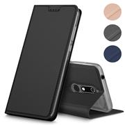 Magnet Case für Nokia 5.1 Hülle Schutzhülle Handy Cover Slim Klapphülle