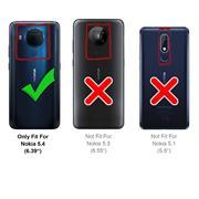 Magnet Case für Nokia 5.4 Hülle Schutzhülle Handy Cover Slim Klapphülle