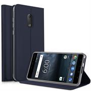 Slim Wallet Case für Nokia 6 Magnet Schutz Hülle mit Standfunktion