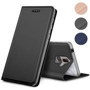 Slim Wallet Case für Nokia 8.1 aufstellbare Magnet Hülle