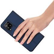 Magnet Case für Samsung Galaxy A12 / M12 Hülle Schutzhülle Handy Cover Slim Klapphülle