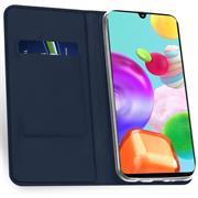Magnet Case für Samsung Galaxy A20s Hülle Schutzhülle Handy Cover Slim Klapphülle