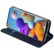 Magnet Case für Samsung Galaxy A21s Hülle Schutzhülle Handy Cover