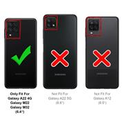 Magnet Case für Samsung Galaxy A22 4G / M22 Hülle Schutzhülle Handy Cover Slim Klapphülle