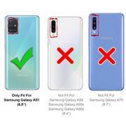 Magnet Case für Samsung Galaxy A51 Hülle Schutzhülle Handy Cover