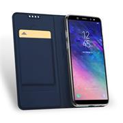Magnet Case für Samsung Galaxy A6 Hülle Schutzhülle Handy Cover Slim Klapphülle