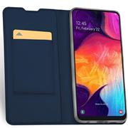 Slim Wallet Case für Samsung Galaxy A80 aufstellbare Magnet Hülle