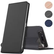 Magnet Case für Samsung Galaxy A80 Hülle Schutzhülle Handy Cover Slim Klapphülle