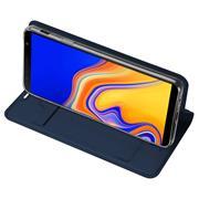 Magnet Case für Samsung Galaxy J6 Plus Hülle Schutzhülle Handy Cover Slim Klapphülle