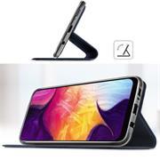 Slim Wallet Case für Samsung Galaxy M20 aufstellbare Magnet Hülle