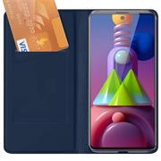Magnet Case für Samsung Galaxy M51 Hülle Schutzhülle Handy Cover Slim Klapphülle