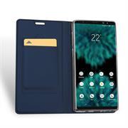 Slim Flip Cover für Samsung Galaxy Note 9 Hülle Tasche Magnet in der Klapphülle