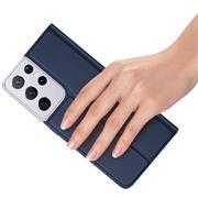 Magnet Case für Samsung Galaxy S21 Ultra Hülle Schutzhülle Handy Cover Slim Klapphülle