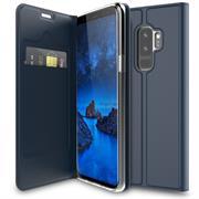 Slim Flip Cover für Samsung Galaxy S9 Plus Hülle Tasche Magnet in der Klapphülle
