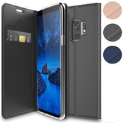 Magnet Case für Samsung Galaxy S9 Hülle Schutzhülle Handy Cover Slim Klapphülle