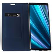 Magnet Case für Sony Xperia 10 Hülle Schutzhülle Handy Cover Slim Klapphülle