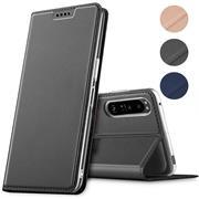 Magnet Case für Sony Xperia 1 III Hülle Schutzhülle Handy Cover Slim Klapphülle
