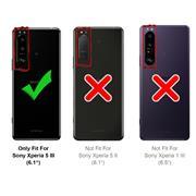 Magnet Case für Sony Xperia 5 III Hülle Schutzhülle Handy Cover Slim Klapphülle