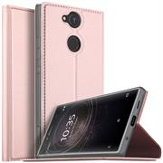 Slim Wallet Case für Sony Xperia XA2 Magnet Hülle mit Standfunktion