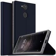 Slim Flip Cover für Sony Xperia XA2 Ultra Hülle Tasche Magnet in der Klapphülle