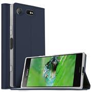 Magnet Case für Sony Xperia XZ1 Compact Hülle Schutzhülle Handy Cover Slim Klapphülle