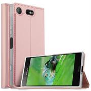 Slim Wallet Case für Sony Xperia XZ1 Magnet Hülle mit Standfunktion