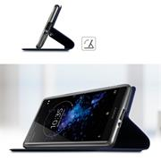Magnet Case für Sony Xperia XZ2 Hülle Schutzhülle Handy Cover Slim Klapphülle