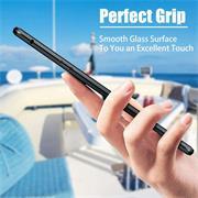 Metall Case für Samsung Galaxy A21s Hülle | Cover mit eingebautem Magnet Rückseite und Vorderseite aus Glas