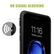 Metall Case für Apple iPhone 7 Plus / 8 Plus Hülle | Cover mit eingebautem Magnet Backcover aus Glas