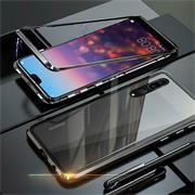 Metall Case für Huawei P20 Pro Hülle | Cover mit eingebautem Magnet Backcover aus Glas