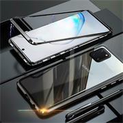 Metall Case für Samsung Galaxy Note 10 Lite Hülle | Cover mit eingebautem Magnet Backcover aus Glas