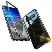 Metall Case für Samsung Galaxy Note 8 Hülle | Cover mit eingebautem Magnet Backcover aus Glas