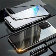Metall Case für Samsung Galaxy S10 Lite Hülle | Cover mit eingebautem Magnet Backcover aus Glas
