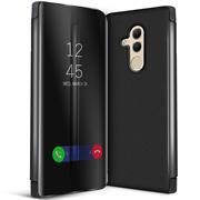 Handy Hülle für Huawei Mate 20 Lite Cover View Spiegel Case