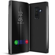 Handy Hülle für Samsung Galaxy A6+ Plus Cover View Spiegel Case