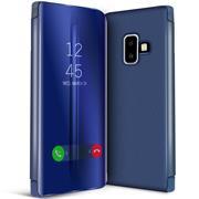 Handy Hülle für Samsung Galaxy J4 Plus Cover View Spiegel Case