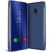 Handy Hülle für Samsung Galaxy J5 2017 Cover View Spiegel Case