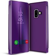 Handy Hülle für Samsung Galaxy J6 2018 Cover View Spiegel Case