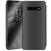 Handy Hülle für Samsung Galaxy S10 Plus Cover View Spiegel Case