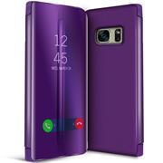 Handy Hülle für Samsung Galaxy S7 Cover View Spiegel Case