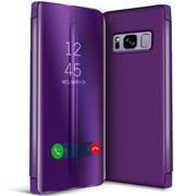 Handy Hülle für Samsung Galaxy S8 Cover View Spiegel Case