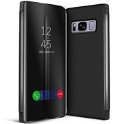 Handy Hülle für Samsung Galaxy S8 Plus Cover View Spiegel Case