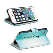 Motiv Klapphülle für Apple iPhone 5 / 5S / SE buntes Wallet Schutzhülle