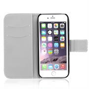 Motiv Klapphülle für Apple iPhone 6 / 6S buntes Wallet Schutzhülle