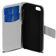 Motiv Klapphülle für HTC One M8 buntes Wallet Schutzhülle