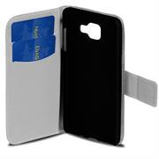 Gemusterte Print Wallet Hülle für Samsung Galaxy A3 2016 Edition Tasche mit Motiv Design - Schutzhülle mit Kartenfächer