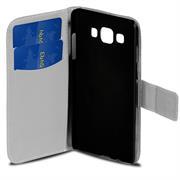 Gemusterte Print Wallet Hülle für Samsung Galaxy A3 Tasche mit Motiv Design - Schutzhülle mit Kartenfächer
